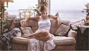 "Steve Hanks Limited Edition Print: ""To Search Within"""