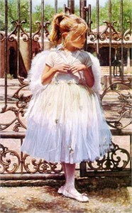 """Steve Hanks Limited Edition Print: """"Angel at The Gate"""""""