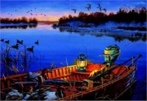 """Darrell Bush Limited Edition Print: """"Early Morning Tradition"""""""