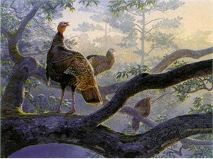 "Al Agnew Handsigned and Numbered Limited Edition Print: ""Out on a Limb"""