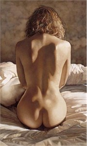 """Steve Hanks Hand Signed & Numbered Limited Edition Giclee on Paper:""""Contours"""""""