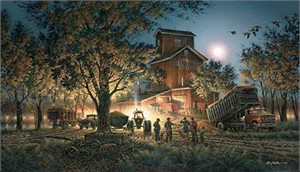 "Terry Redlin Limited Edition Print:""Bountiful Harvest"""