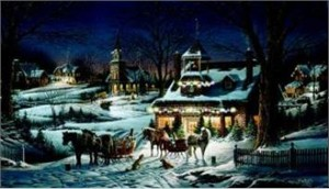"Terry Redlin AP Limited Edition Print:""Evening Rehearsals"""