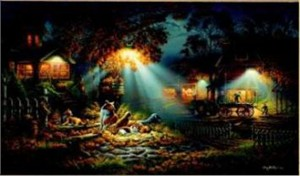 """Terry Redlin Limited Edition Print:""""Our Friends"""""""