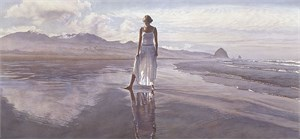 "Steve Hanks Limited Edition Print:""Finding Yourself in The World"""