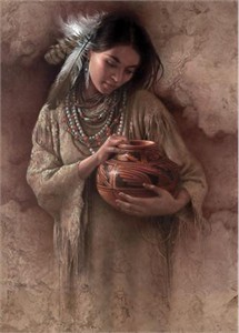 "Lee Bogle Handsigned & Numbered Limited Edition  Canvas Giclee:""The Red Pot"""