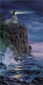 "Darrell Bush Handsigned Open Edition Print:""Keeping the Light"""