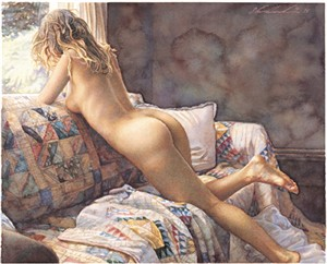 "Steve Hanks Limited Edition Giclee Print ""Interior View"""
