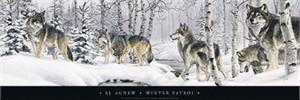 "Al Agnew Open Edition Print: "" Winter Patrol"""