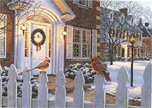 "Darrell Bush Open Edition Print: ""Winter's Song"""