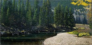 """Al Agnew Handsigned & Numbered Limited Edition Print:""""A Peaceful Moment"""""""