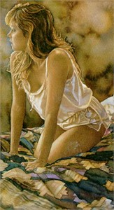 """Steve Hanks Handsigned & Numbered Limited Edition Print:""""In Her Thoughts"""""""