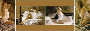 "Steve Hanks Handsigned & Numbered Limited Edition Print:""Dream Seekers Suite of 4"""