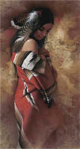 "Lee Bogle Handsigned and Numbered Limited Edition Giclee on Canvas: ""Serenity"""