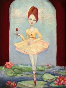 "Cassandra Christensen Barney Artist Handsigned and Numbered Limited Edition Giclée Canvas: ""Christianna"""