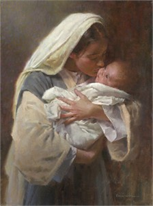 """Morgan Weistling Open Edition Fine Art  Giclée Canvas: """"Kissing the Face of God"""""""