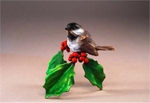 "Mark Hopkins Limited Edition Bronze Sculpture: ""Winter's Carol"""