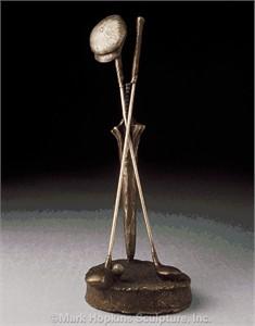 "Mark Hopkins Limited Edition Bronze Sculpture: ""Woods"""