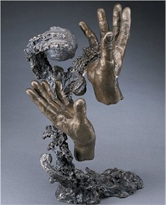 "Mark Hopkins Limited Edition Bronze Sculpture: ""Creation"""