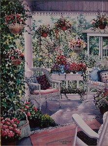 """Laurie Brussel Limited Edition Gicle�e on Paper: """"Pastel Pleasures on Paper"""""""