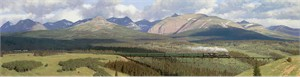 """Tucker Smith Limited Edition Canvas Giclée:""""The Great Northern"""""""