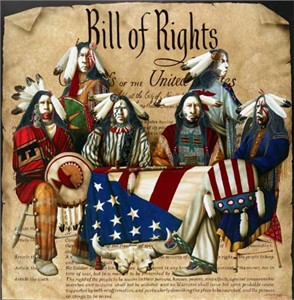"JD Challenger Hand Signed and Numbered Limited Edition Giclee ""Bill Of Rights"""