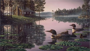 "Kim Norlien Handsigned and Numbered Limited Edition :""Northern Tranquility"""