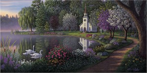 "Kim Norlien Handsigned and Numbered Limited Edition :""Sanctuary"""