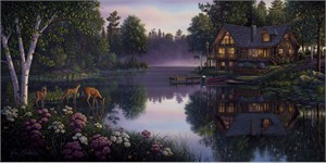 "Kim Norlien Handsigned and Numbered Limited Edition :""Sweet Serenity"""