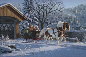 "Kim Norlien Handsigned and Numbered Limited Edition :""Treasured Memories"""