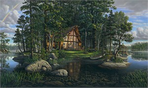 """Kim Norlien Handsigned and Numbered Limited Edition :""""Freedom's Promise"""""""