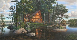 """Kim Norlien Handsigned and Numbered Limited Edition :""""Freedom's Promise - Panoramic"""""""