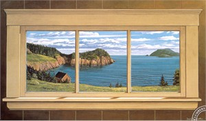 "David Hoddinnott Handsigned & Numbered Limited Edition Print:""The Window View """