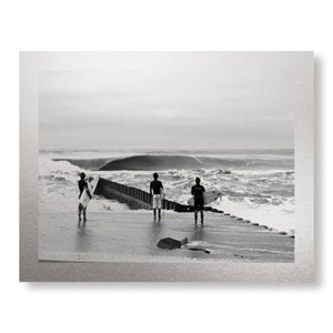 """Matt Lusk Limited Edition Ready to Hang Giclee on Brushed Aluminum: """"Lineup Lighthouse"""""""