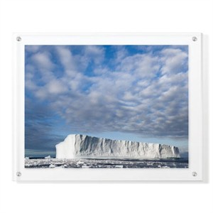 """Donald Paulson Limited Edition Ready to Hang Giclee on Clear Acrylic: """"Island of Ice"""""""