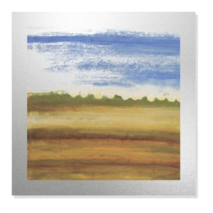 "Erin Galvez Limited Edition Ready to Hang Giclee on Brushed Aluminum: ""Sacramento Valley II"""