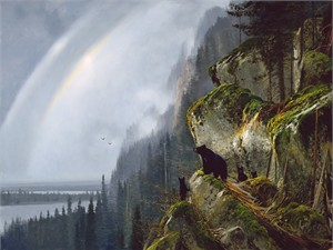 "Michael Coleman Hand Signed and Numbered Limited Edition Giclee:""After the Storm - Vancouver Island"""