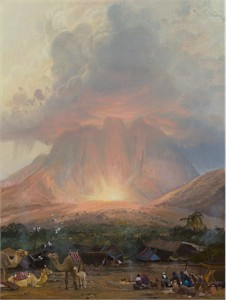 """Michael Coleman Hand Signed and Numbered Limited Edition Giclee:""""Mt. Sinai"""""""