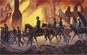 "Mort Kunstler Handsigned and Numbered Limited Edition Artist Proof Print:""Final Mission, The"""