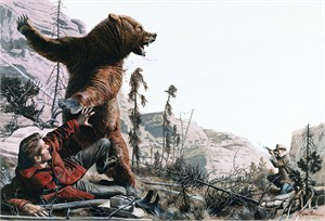 "Mort Kunstler Handsigned and Numbered Limited Edition Giclee Print on Canvas:""Mud March, The"""
