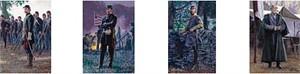 "Mort Kunstler Handsigned & Numbered Limited Edition Print:""Four Generals - Suite of 4 - Matching Numbered"""