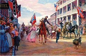 "Mort Kunstler Handsigned & Numbered Limited Edition Masterpiece Collection Giclee on Canvas: ""Gen. Thomas J. Stonewall Jackson"""