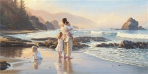 "Mark Keathley Handsigned and Numbered Limited Edition:""Tower of Strength"""