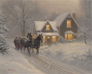"Mark Keathley Handsigned and Numbered Limited Edition:""I'll Be Home"""