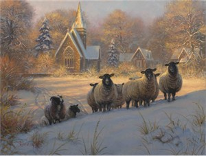 "Mark Keathley Handsigned and Numbered Limited Edition:""Follow Me"""