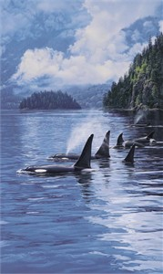 """Daniel Smith Limited Edition Print:""""Ancient Mariners"""""""