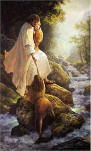 "Greg Olsen© Hand Signed and Numbered Limited Edition Canvas Giclee: ""Be Not Afraid"""
