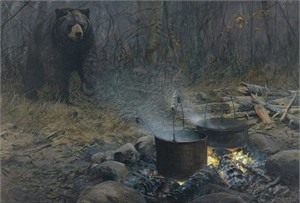 """John Seerey – Lester Handsigned and Numbered Limited Edition Giclee on Canvas:""""Blackout"""""""