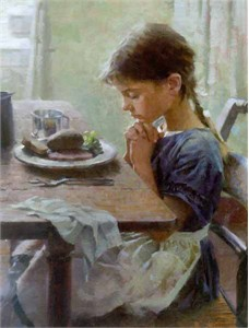 """Morgan Weistling Limited Edition Print: """"A Thankful Heart"""""""