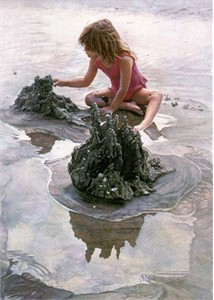 """Steve Hanks Limited Edition Print: """"Castles in the Sand"""""""